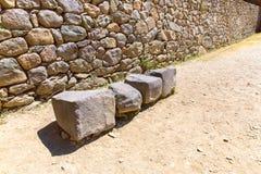 Ollantaytambo, Peru, Inca ruins  and archaeological site in Urubamba, South America. Royalty Free Stock Photos