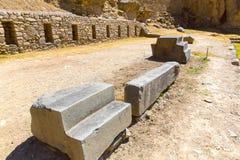 Ollantaytambo, Peru, Inca ruins  and archaeological site in Urubamba, South America. Stock Image