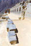 Ollantaytambo, Peru, Inca ruins  and archaeological site in Urubamba, South America. Royalty Free Stock Image