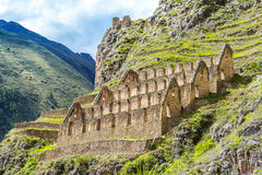Ollantaytambo, Peru, Sacred Valley, ruins Stock Photography