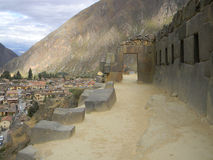 Ollantaytambo, Peru Royalty Free Stock Images