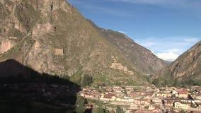 Ollantaytambo, Peru stock video footage