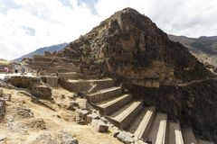 Olantaytamboo, archeological site, Inca, Peru royalty free stock photos