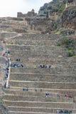 Ollantaytambo ruins peruvian Andes  Cuzco Peru Royalty Free Stock Photography