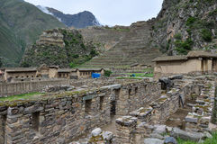 Ollantaytambo ruins, Sacred Valley, Peru Stock Photography