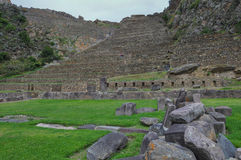 Ollantaytambo ruins, Sacred Valley, Peru Stock Photo