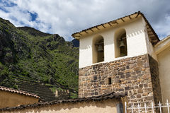 Ollantaytambo ruins. In the Sacred Valley, Peru Stock Images