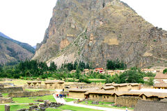 Ollantaytambo in the Sacred Valley of the Incas Stock Photography