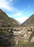 Ollataytambo, Cuzco, Peru Stock Afbeelding