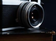 Olld类似物照相机 库存照片