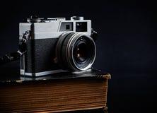 Olld类似物照相机 免版税库存图片