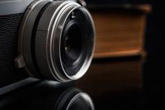 Olld类似物照相机 免版税图库摄影