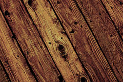 Olld Wood with Knot Royalty Free Stock Photos