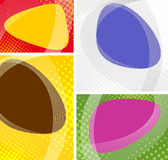 Сollection bright abstract background Stock Images
