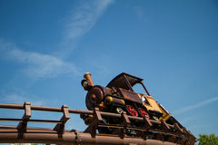 Oller coaster far west Royalty Free Stock Image