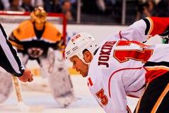 Olli Jokinen Calgary Flames Royalty Free Stock Image