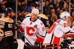 Ollie Jokinen Calgary Flames fotografie stock libere da diritti