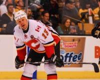 Ollie Jokinen Calgary Flames immagini stock libere da diritti