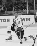 Ollie Jokinen Calgary Flames fotografia stock libera da diritti