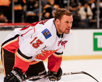 Ollie Jokinen Calgary Flames Royalty Free Stock Image