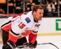 Ollie Jokinen Calgary płomienie Obraz Royalty Free