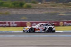 Ollie Millrey de l'équipe AAI des séries de Le Mans d'Asiatique - course à 2016 Image stock