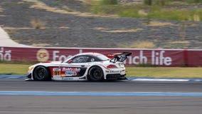 Ollie Millroy de l'équipe AAI des séries de Le Mans d'Asiatique - course à 2016 Images libres de droits