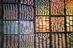 OLLIVANDERS de POTTENBAKKERSreis Leavesden Londen van WARNER HARRY van de TOVERSTOKJEwinkel Stock Afbeeldingen