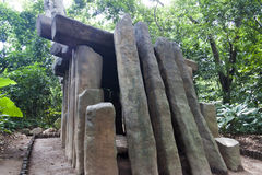 Olmec, Табаско, Villahermosa, Мексика, археология, туризм стоковая фотография