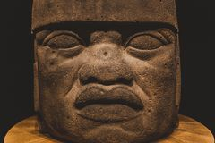 Olmec Colossal Head 2 Stock Photo