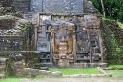 Olmec maski świątynia fotografia royalty free