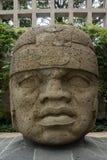 Olmec stone head Royalty Free Stock Photography