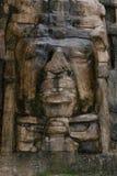 Olmec stylu maska obraz stock