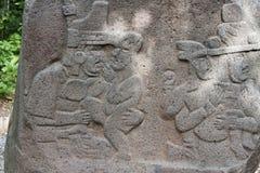 Olmec, Tabasco, Villahermosa, Meksyk, archeologia, turystyka obrazy stock