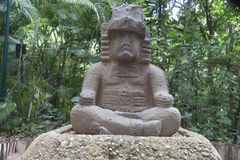 Olmec, Tabasco, Villahermosa, Messico, archeologia, turismo fotografia stock libera da diritti