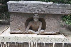 Olmec tabasco, Villahermosa, Mexico, arkeologi, turism Fotografering för Bildbyråer