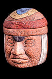 Olmec terracotta relic Royalty Free Stock Image