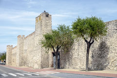 Olmedo walls Royalty Free Stock Photography