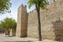 Olmedo walls Stock Photos