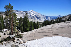 Olmsted Point, Tioga Pass, Yosemite National Park Stock Photos
