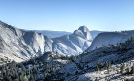 Olmsted punkt, Yosemite nationalpark Royaltyfri Bild