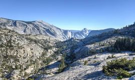 Olmsted punkt, Yosemite nationalpark Royaltyfria Bilder
