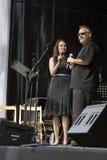 Olney Big Band-Sänger Lizenzfreie Stockbilder