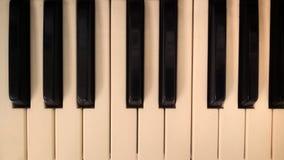 Olo pianino fotografia royalty free