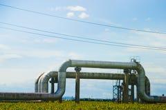 Oléoducs Photo stock