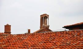 Ologna, Włochy: miastowa architektura w centrum miasta Obrazy Royalty Free