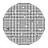 Olographe, fond d'abrégé sur couleur de spectre Calibre graphique perlé pour la brochure, insecte, conception d'affiche, vecteur  illustration stock