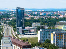 市Olomouc 免版税库存图片