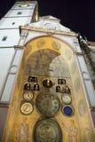 Olomouc Astronomical Clock Stock Photo