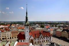 Olomouc - ayuntamiento foto de archivo